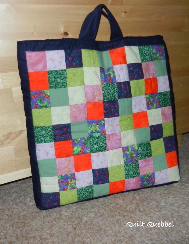 Quilt Tassen : Quilt quebbel twee nieuwe bottom top tassen