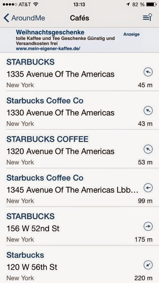 nur Starbucks?