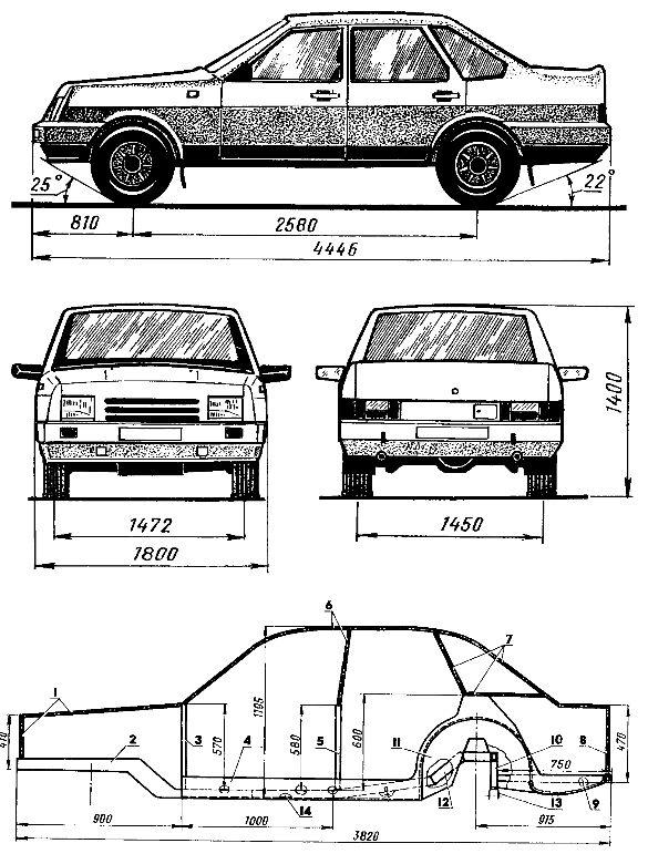 Автомобиль своими руками чертежи