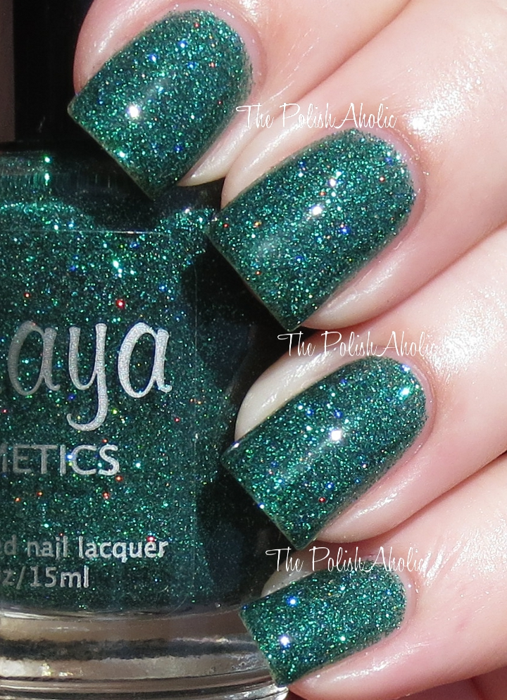 The PolishAholic: Maya Cosmetics Swatches
