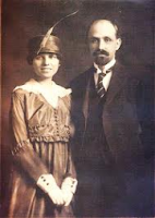 Juan Ramón Jiménez y su esposa Zenobia Camprubí