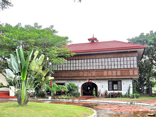 of the Jose Rizal House in Nayong Pilipino sa Clark Expo (Pampanga