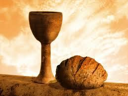 Communion Symbols of Bread and Wine