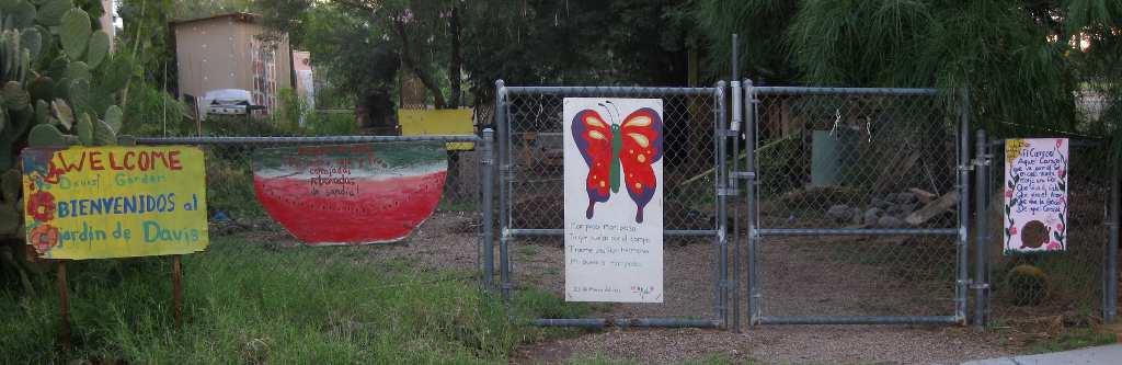 The Tucson Murals Project Davis Community Garden