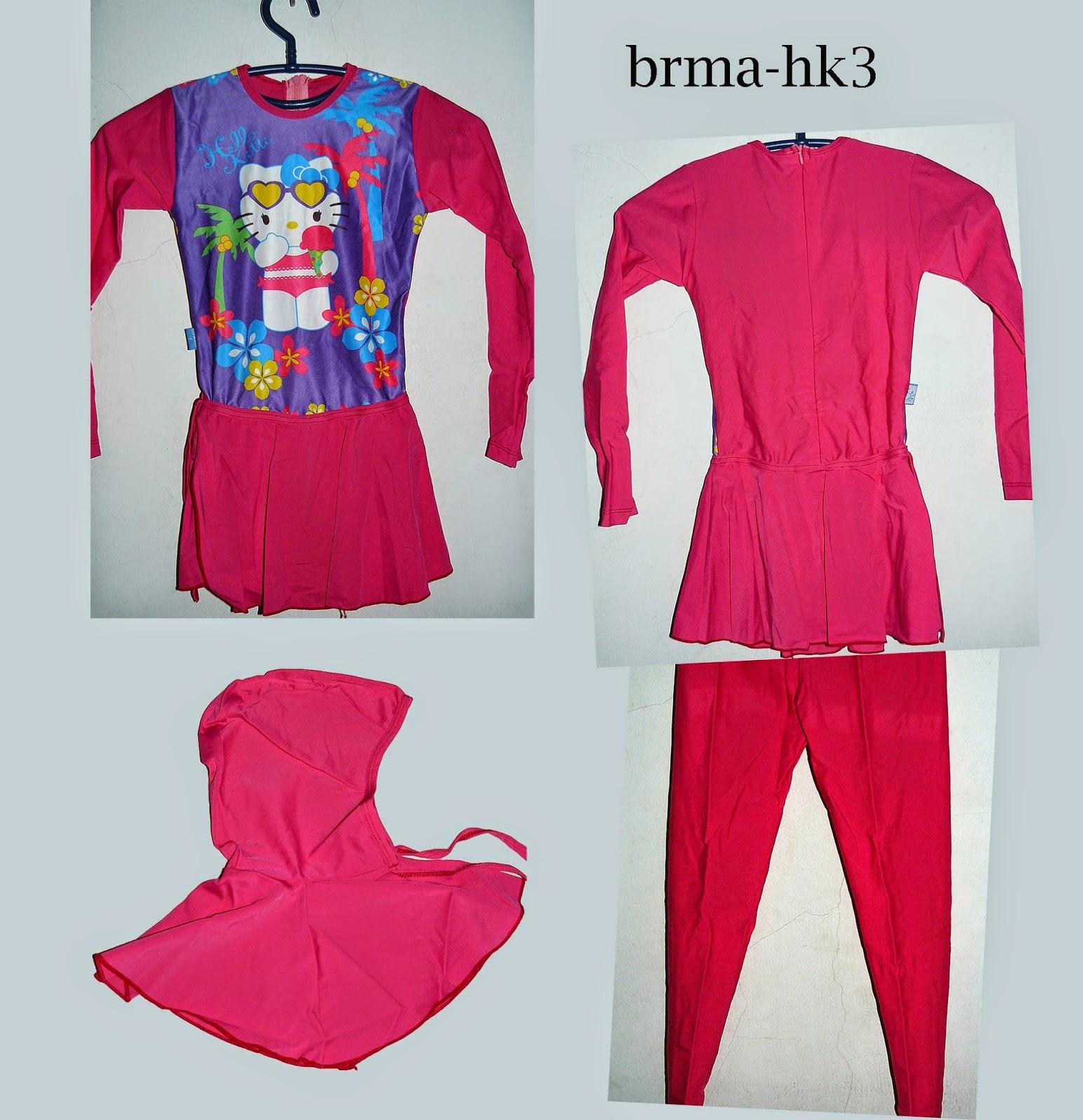 Baju Renang Murah 2014 Anak Muslimah Perempuan Ukuran Bisa Digunakan Untuk 4 6thuntahun Harga Rp 135000