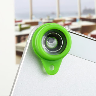 Hot Jelly Lens Fish Eye Wide Angle for iPhone Cell Phone Digital Lomo Camera BU