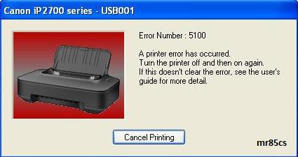 error 5b00