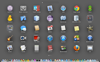 My OS X Launchpad