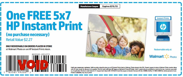 free 5x7 hp photo print at walmart or meijer printable coupon