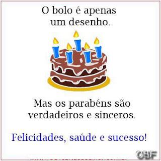 Frases de Aniversario, Faça a Alegria de alguém no seu aniversario.
