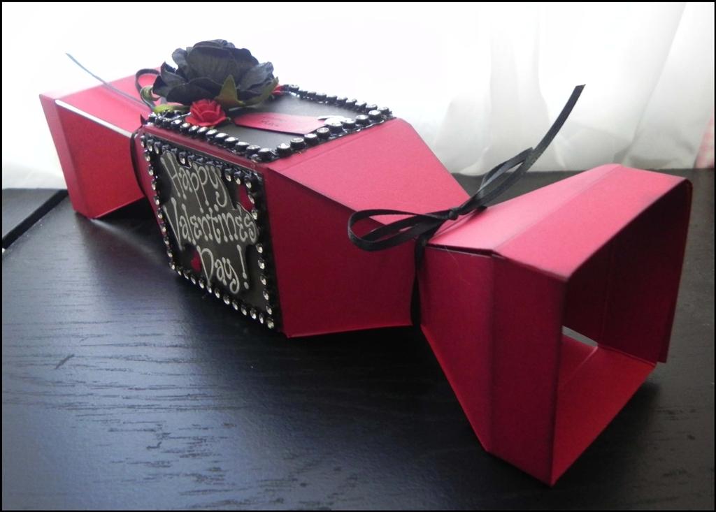 Valentines Day Treat Box by Kenya G Bosskut