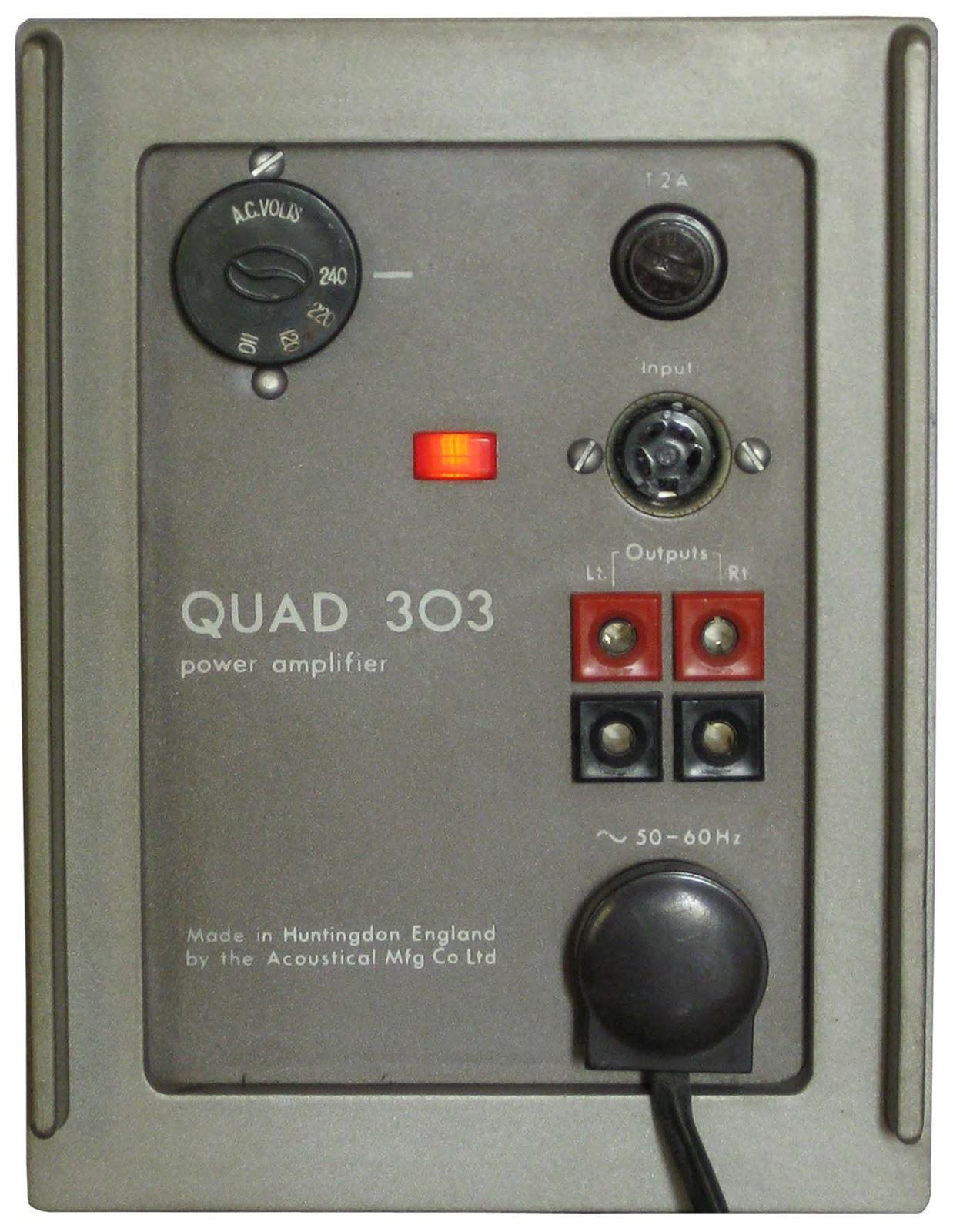 rare manual depository the quad 33 control amplifier the quad 303 rh raremanualdepository blogspot com FM3 Performance Marketing FM3 Performance Marketing