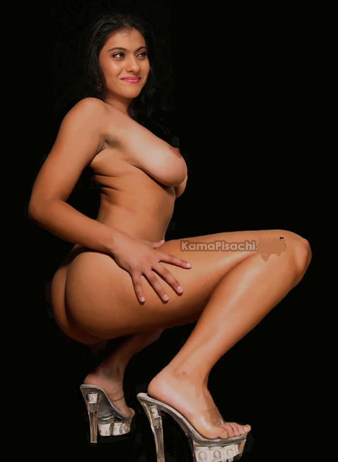 Nude Indian Actress Kajol Boobs
