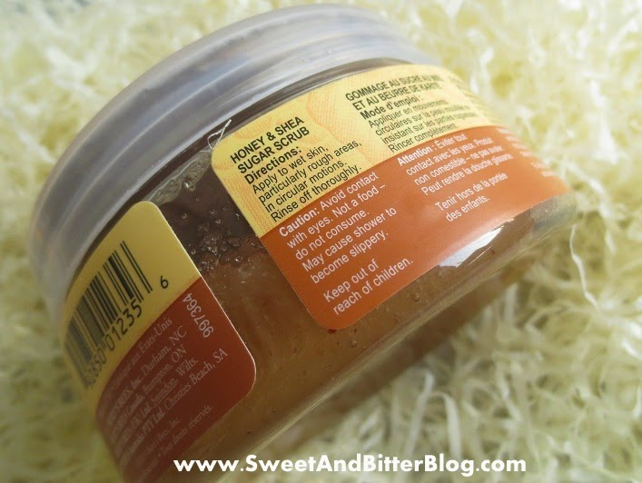 Burts Bee Honey and Shea Sugar Scrub Review