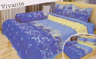 sprei Lady Rose Vivante