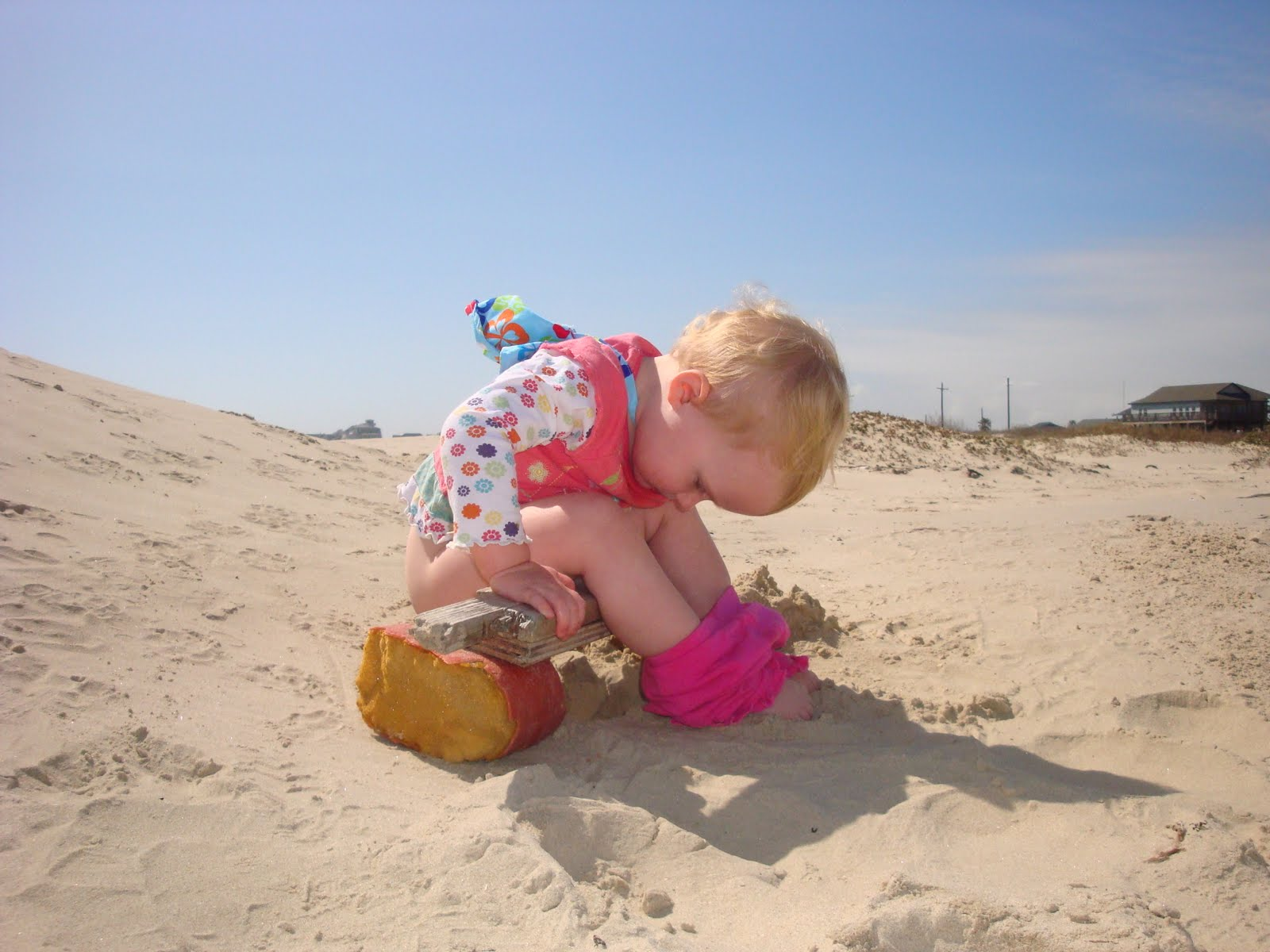 A Day At The Beach On The Bolivar Peninsula