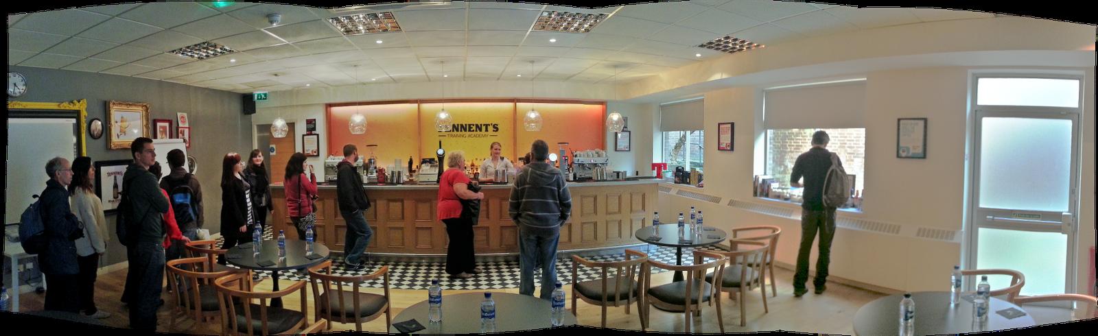 Tennents Academy Bar, Glasgow