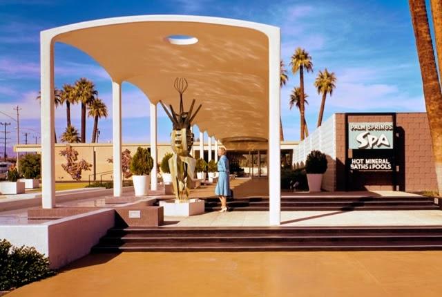 Esoteric survey demolition spa resort hotel for Design hotel palm springs