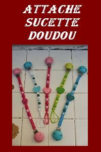 ACCROCHE SUCETTE / DOUDOU