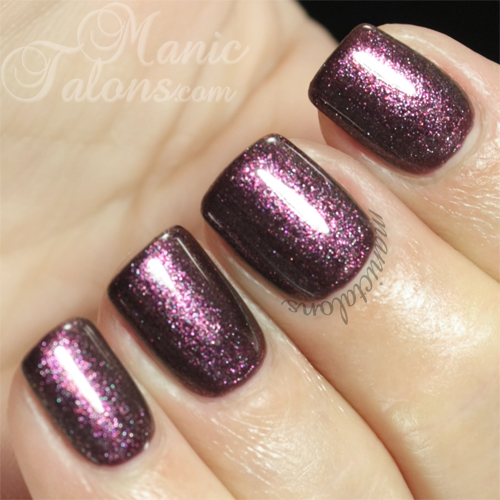 Madam Glam Gel Polish Shimmer Lavender (#238) Swatch