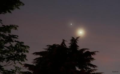 Conjonction Vénus Jupiter