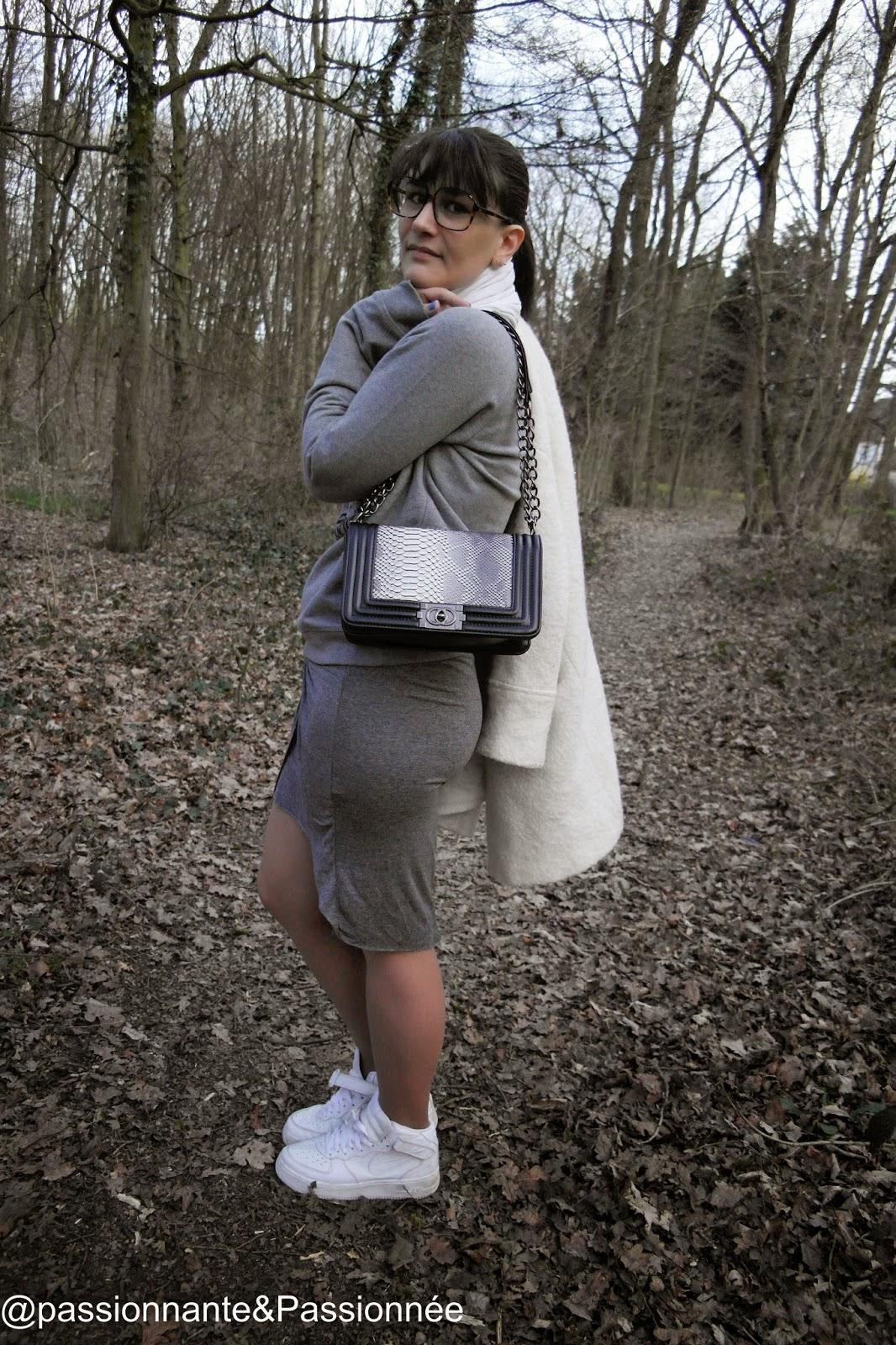 comment porter une jupe avec un sweat