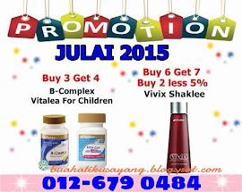 PROMOSI JULAI'15! HUBUNGI 012-679 0484 SEKARANG!