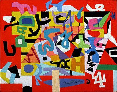 Seth Saith Stuart Davis Modern Before His Time An Art