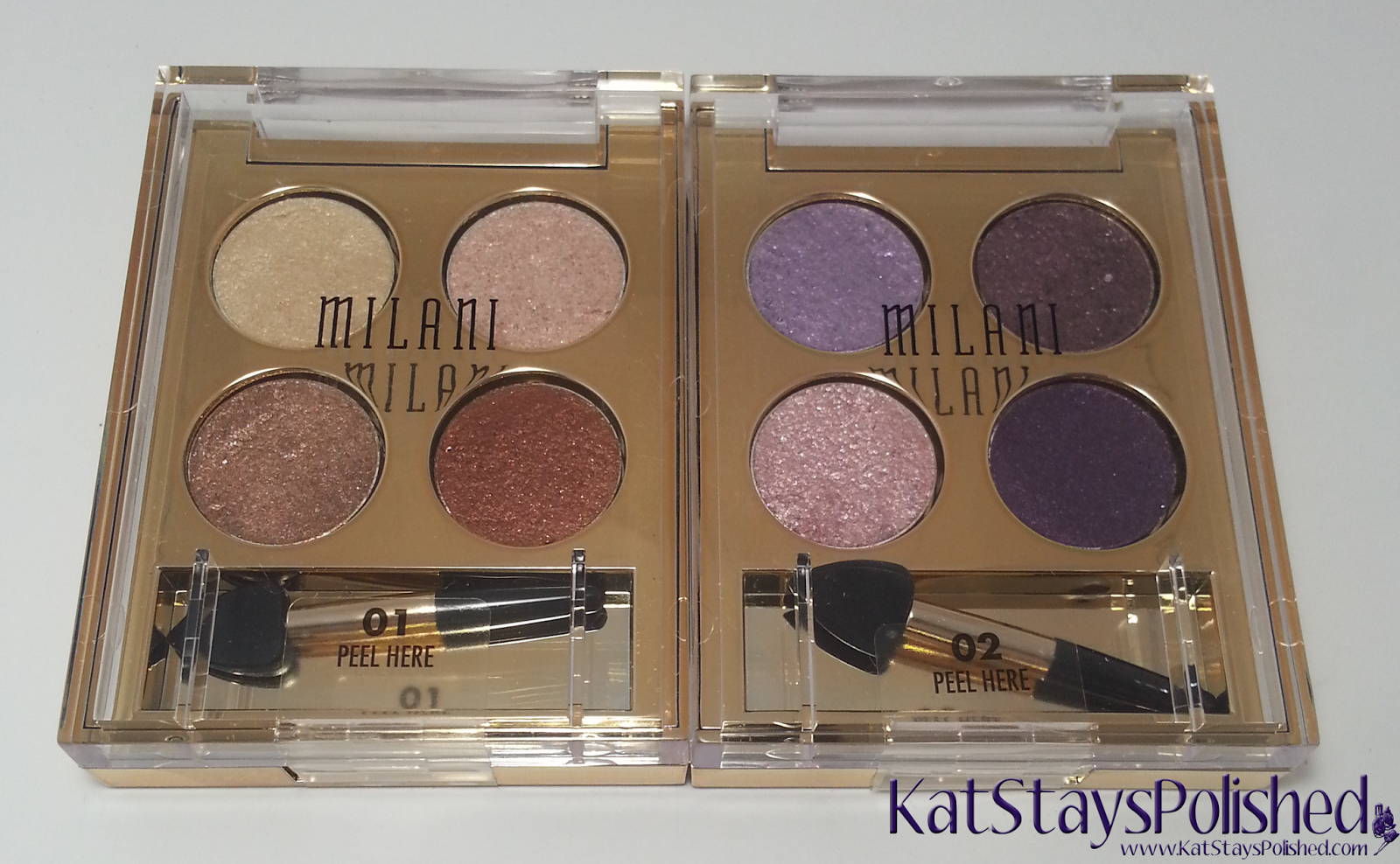 Milani Fierce Foil Eyeshine | Kat Stays Polished