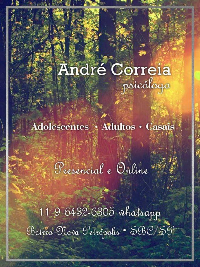Atendimento Psicologia com André Correia