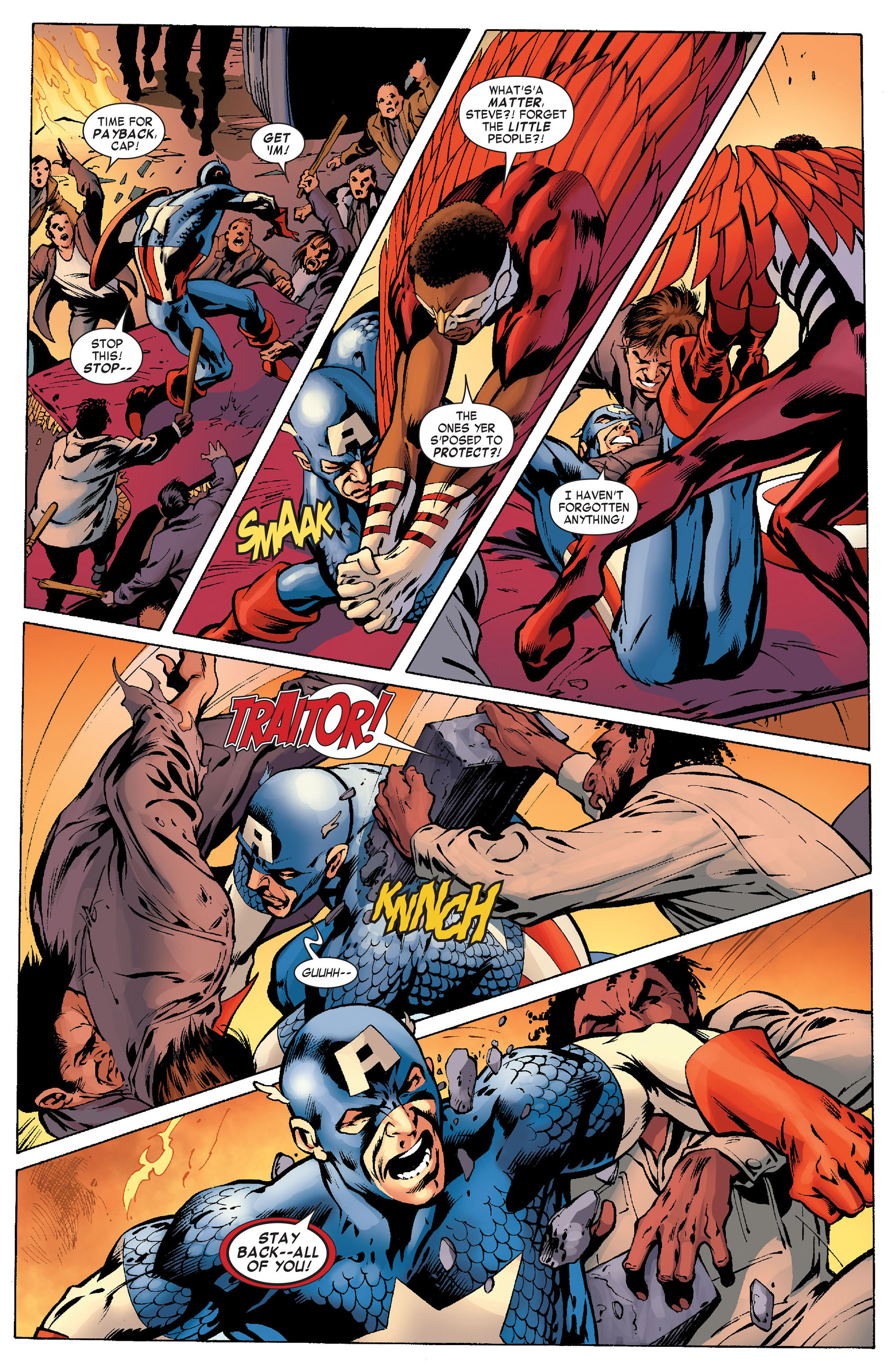 Captain America (2011) Issue #10 #10 - English 14