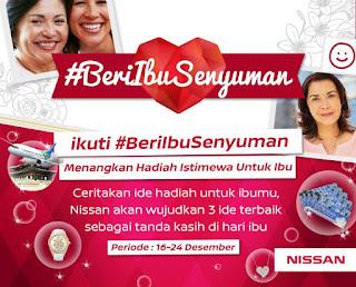 Info Kontes - Kontes Nissan #BeriIbuSenyuman