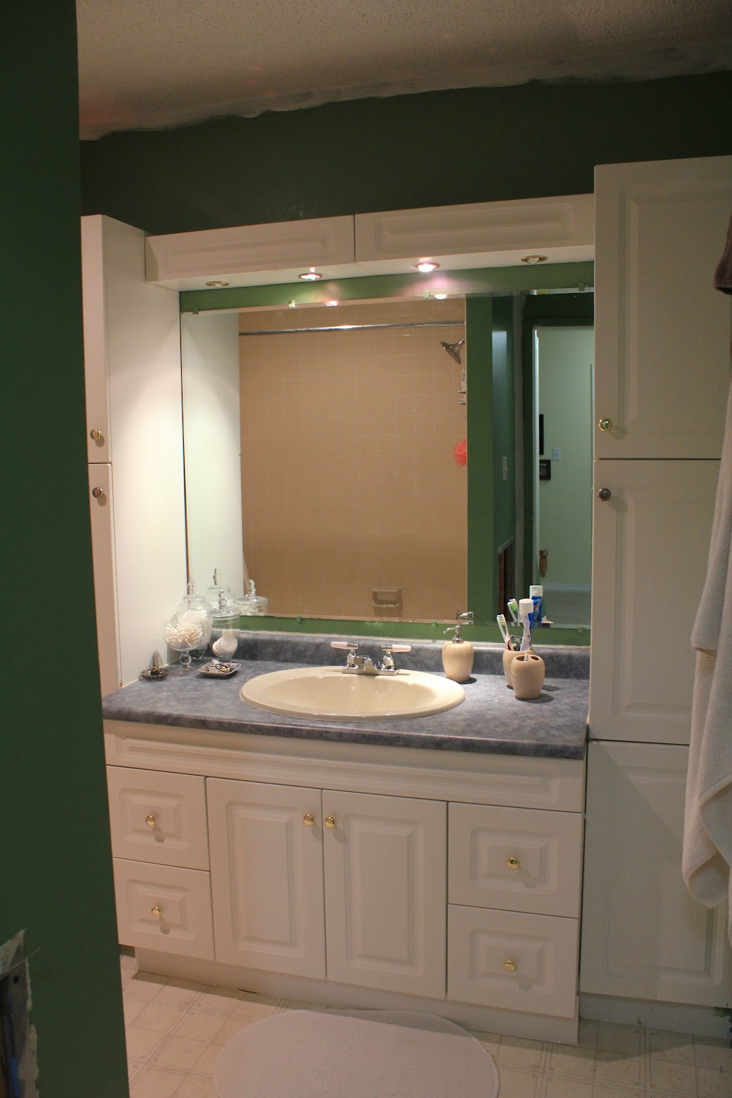 Two loonies and a penny bathroom renovation the before for Bathroom renovation inspiration