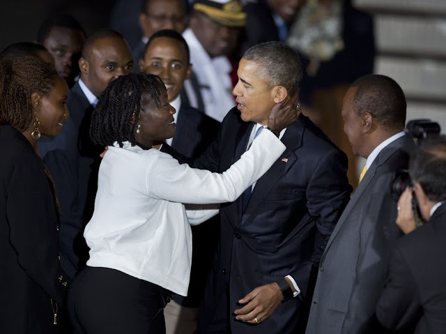 A Strong Lesson: Auma Obama: How I earned a ride in 'The Beast'