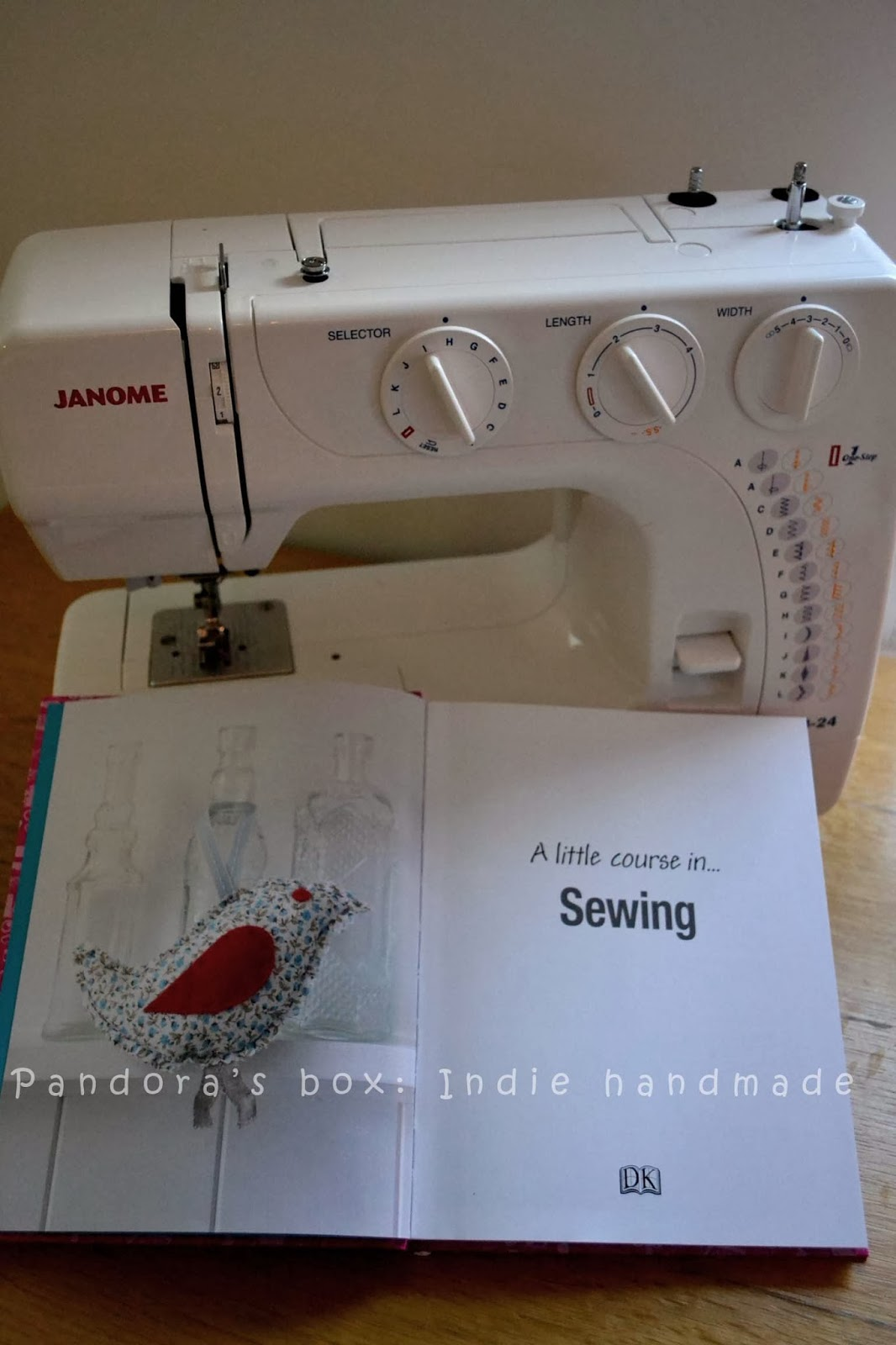 Book review: A little course in sewing