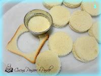 Mozzarella in carrozza con prosciutto crudo