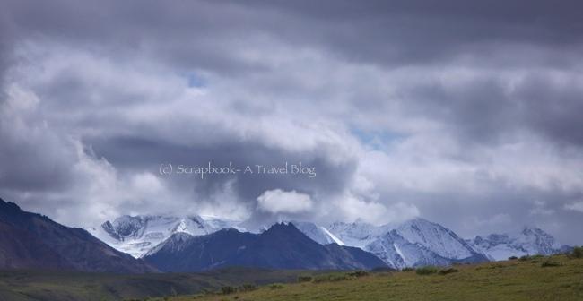 Mt Denali Range at Denali National Park Alaska