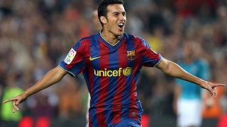Pedro renovó su contrato con Barcelona