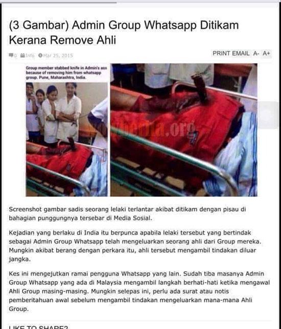 Bahaya Jadi Admin Group WhatsApp