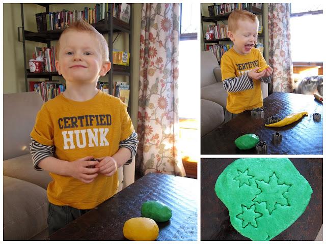 Homemade Edible Playdough