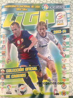 Liga Este 2013-14 portada álbum