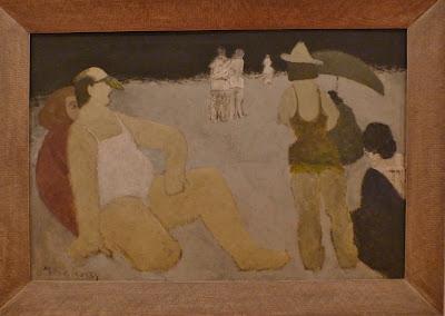Milton Avery - Bathers, Coney Island – 1934