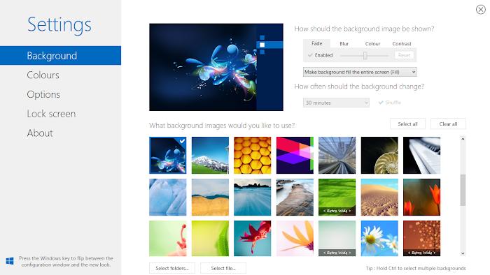 Cara Menganti Background Start Screen di Windows 8 / 8.1 dengan Gambar Sendiri