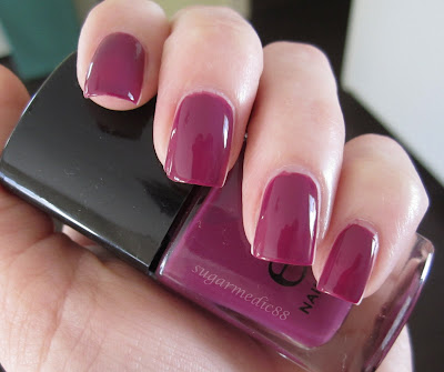 ELF Purple Pleaser Swatch