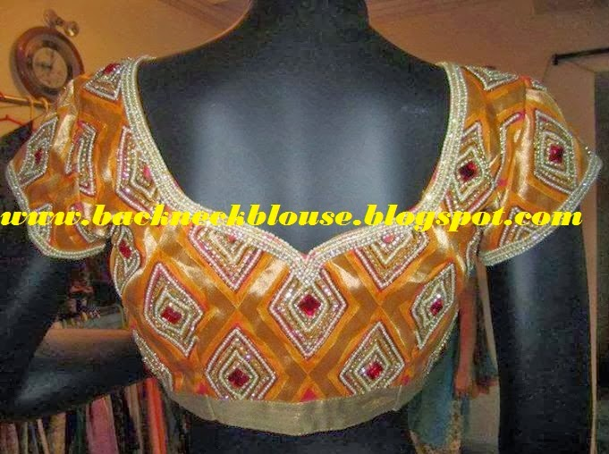 SOUTH INDIAN TREND BLOUSE
