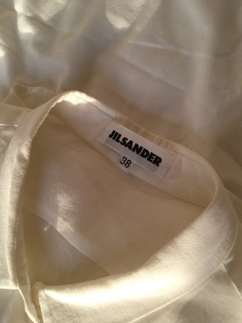 Vintage White Shirt Jil Sander | Get Up Get Dressed