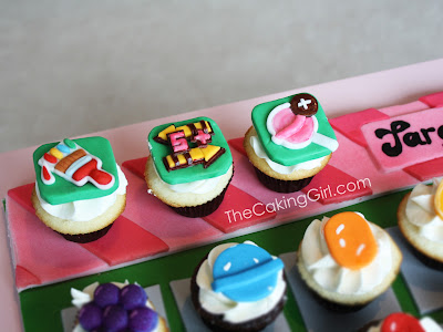 how to make candy crush cupcakes tutorial