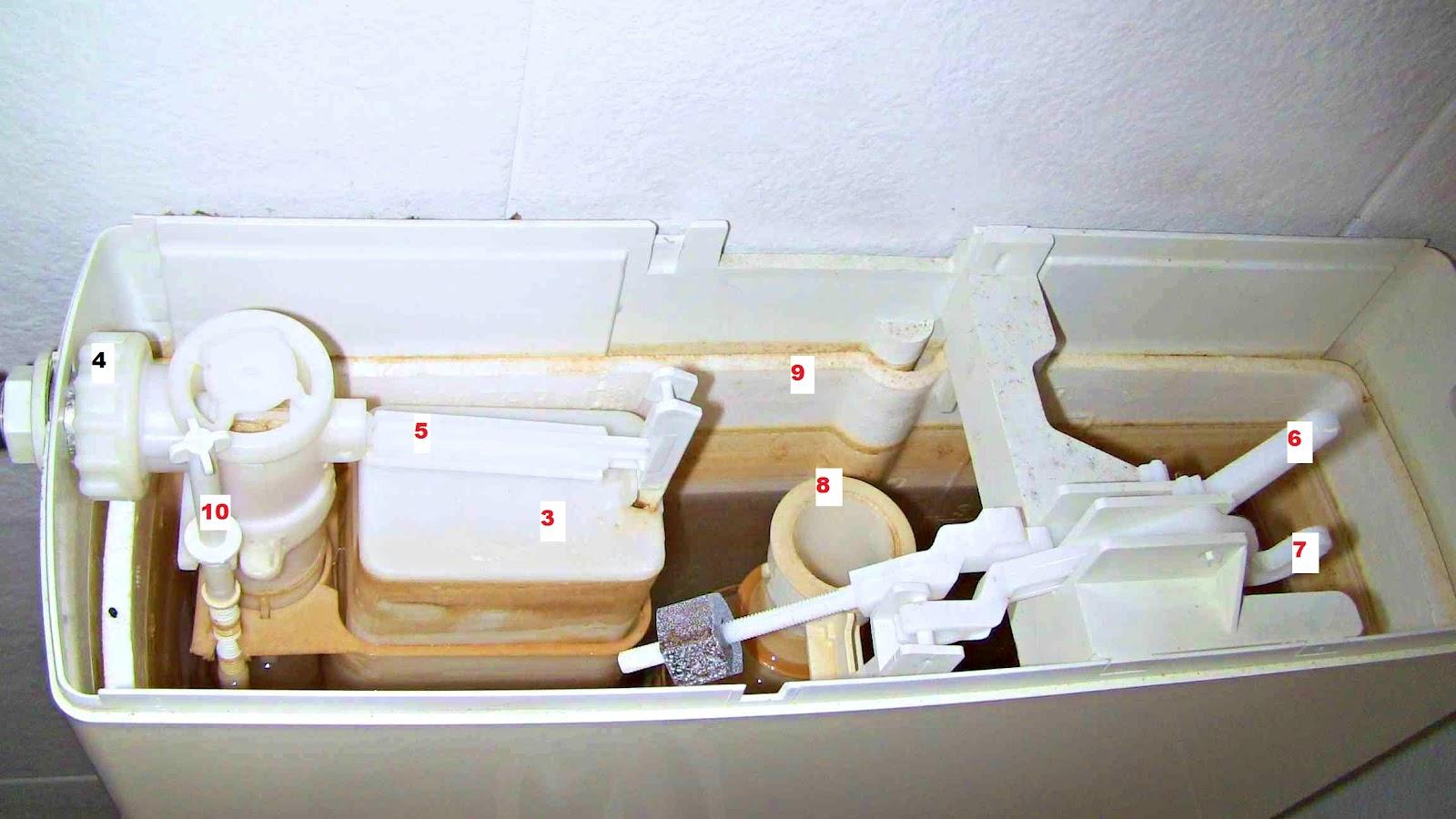 Fai da te con l 39 esperto tuttofare cassetta wc esterna - Cassetta scarico acqua bagno ...