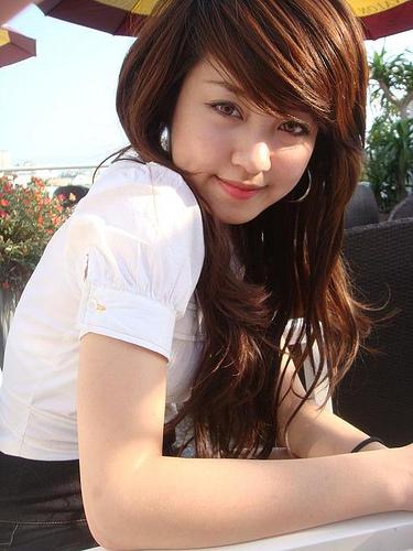 Ngắm hình ảnh hot girl kute xinh đẹp tự nhiên,
