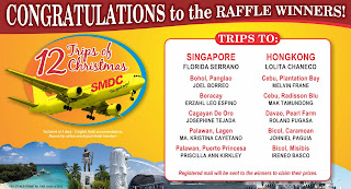 Congratulations to the 12 Trips of Christmas Winners!